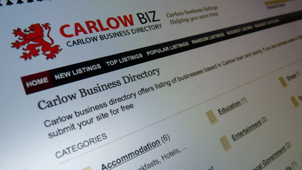 Carlow Business Directory Promo Shot