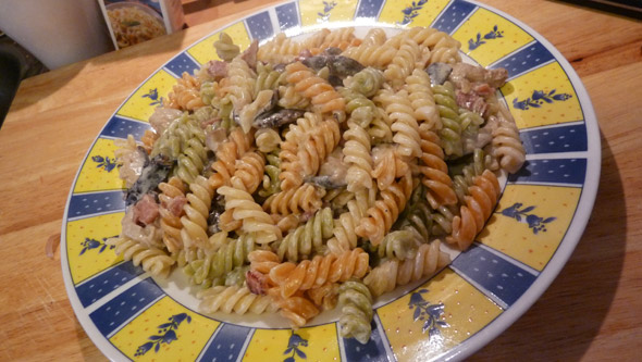 This turned out rather nicely 9/10 from me .. the Fusilli may not have ...