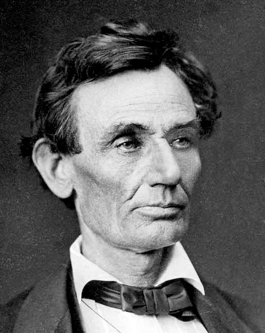 Abraham lincoln Black and White